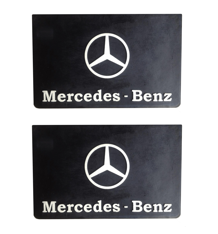 Parabarro Lameiro Caminhão Mercedes MB 55x34 cm - Par