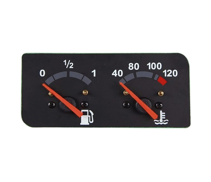 Relógio Indicador Combustível Temperatura Scania P94 114 124 Série 4 de 2000 em diante