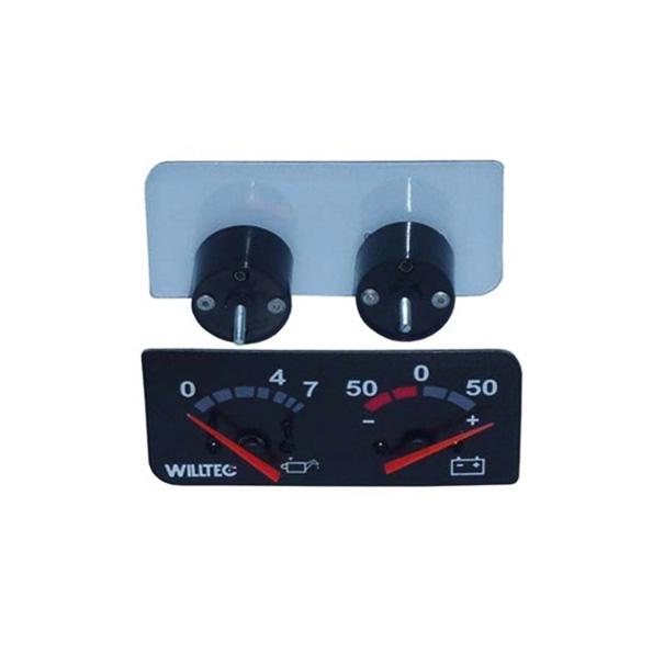 Relógio Indicador Pressão Óleo Scania P94 114 124 Série 4 de 2000 em diante