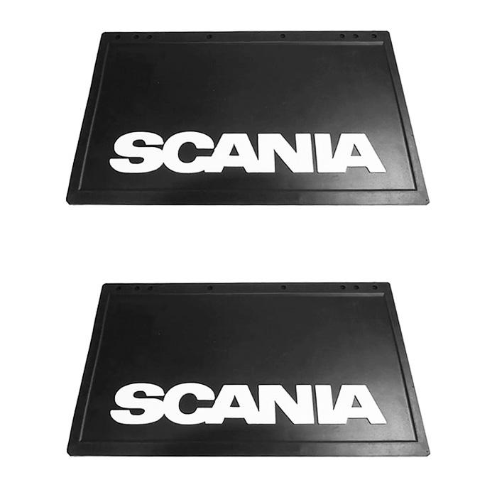 Parabarro Lameiro Caminhão Scania 50x36 cm - Par