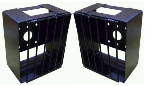 Caixa Protetor Lanterna Traseira Caminhao VW Ford Cargo - Par